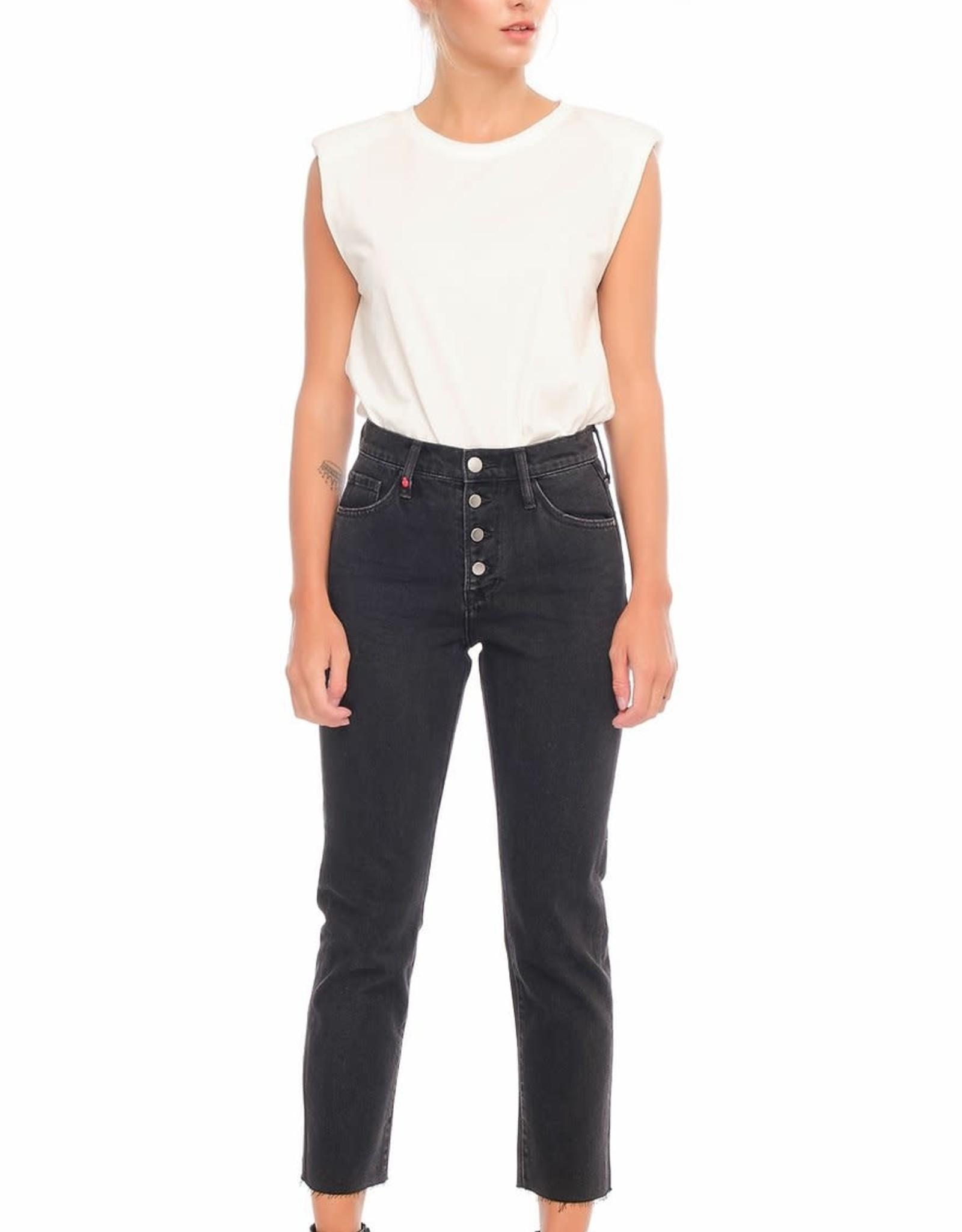 F.A.M. Jeans F.A.M. 'Patricia MFB' - Black