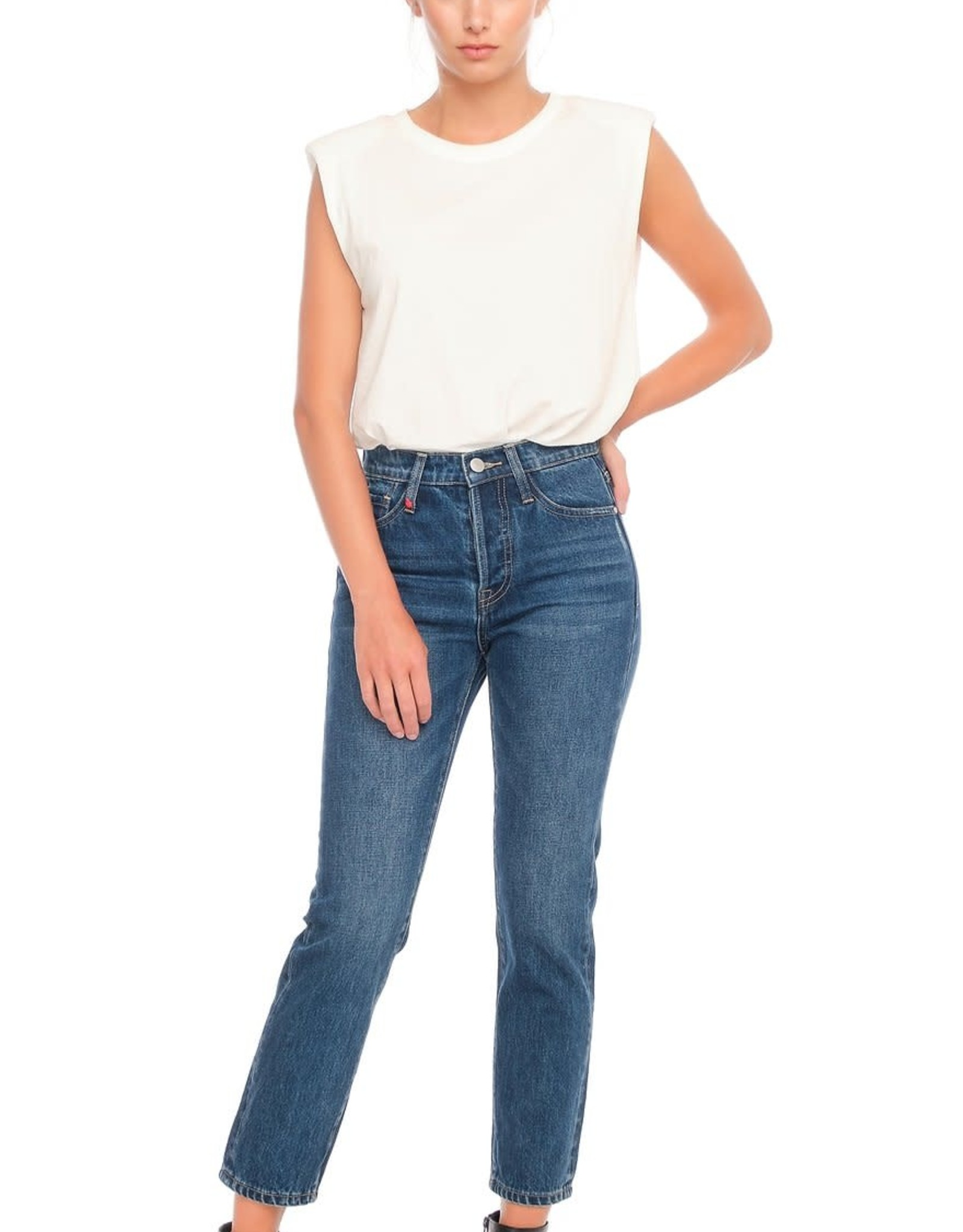 F.A.M. Jeans F.A.M. 'Patricia MFN' - Stone