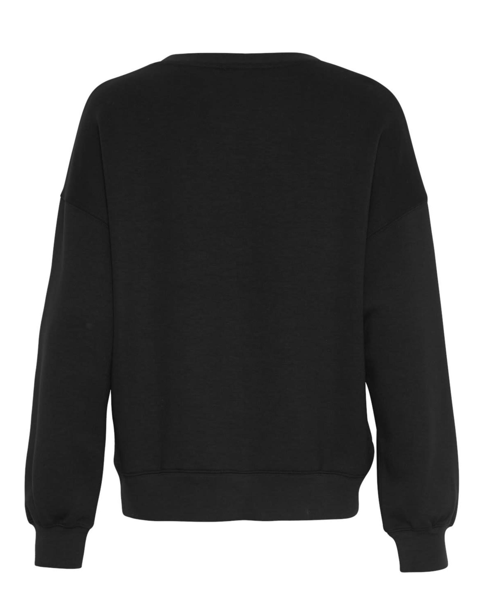 Moss Copenhagen Sweatshirt 'Ima' - Zwart