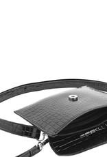HVISK Handtas 'Evolve Croco' - Black - Hvisk