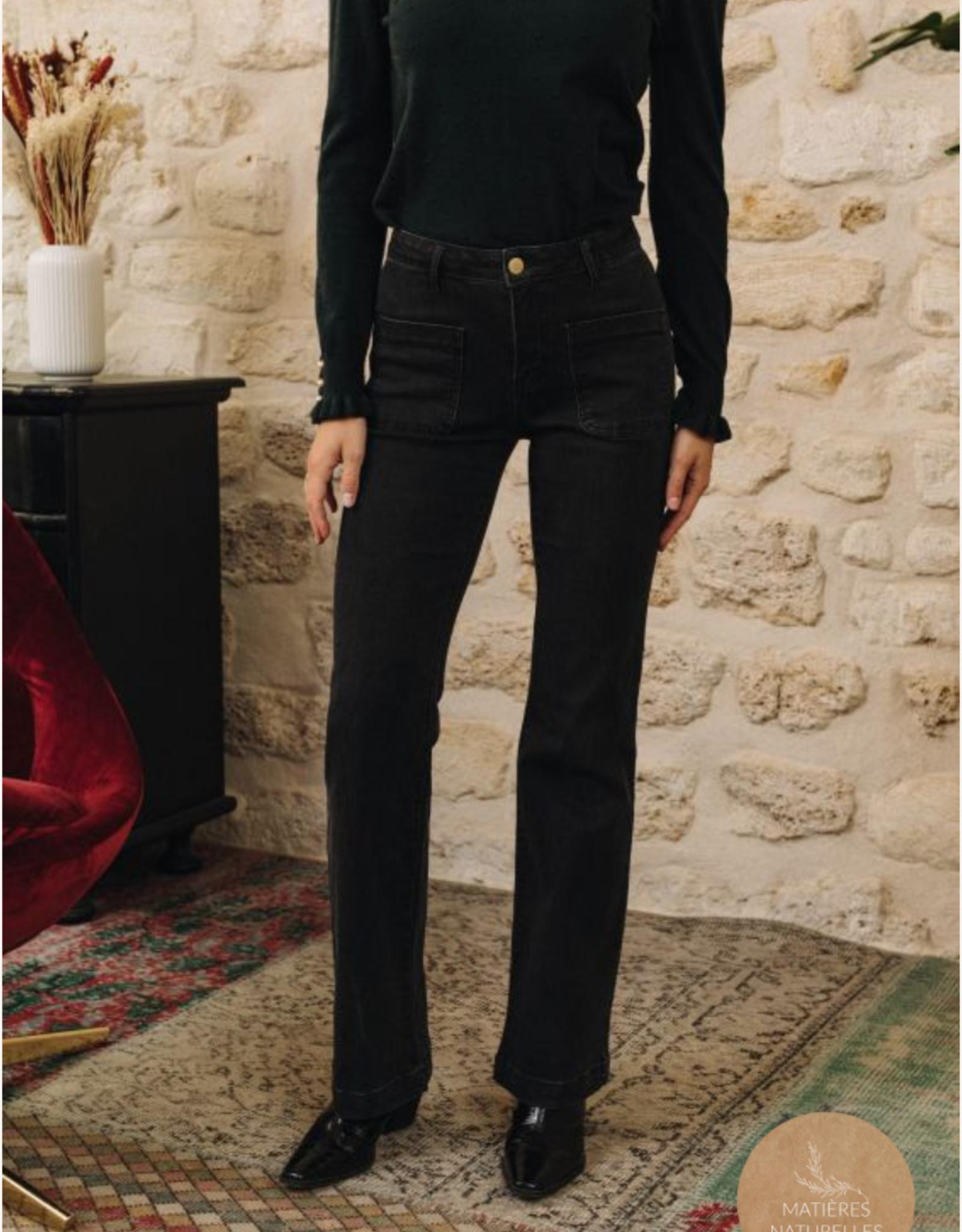 La Petite Etoile Jeans 'Sonny' - Zwart