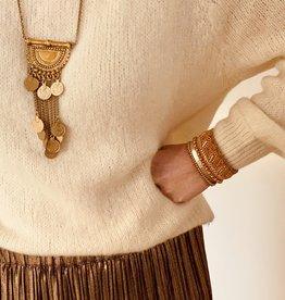 The Golden House Armband 'Aliyaah' - Gold