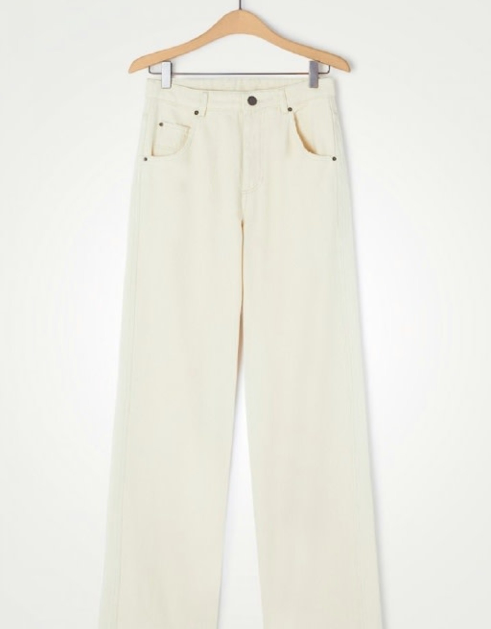 American Vintage Jeans Tineborow Straight - Ecru