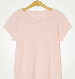 American Vintage T-shirt Sonoma Boothals - Vintage rose