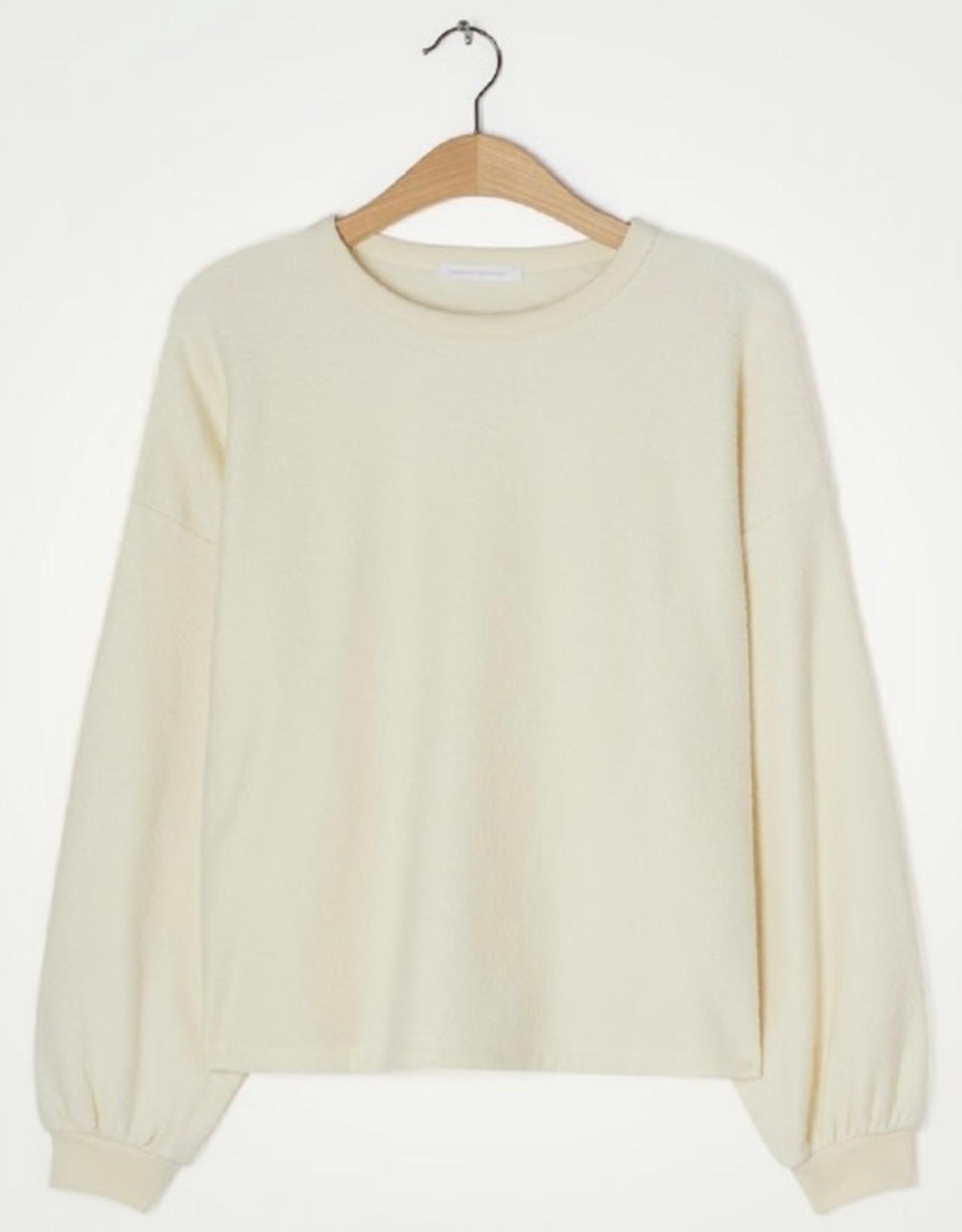 American Vintage Pull/Sweater 'Bobypark' - Ecru - American Vintage