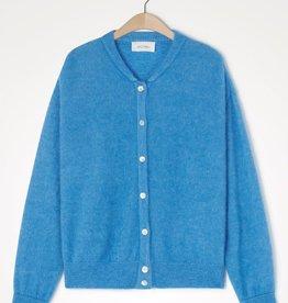 American Vintage Gilet/vest 'Zabidoo' - Blauw melange - American Vintage