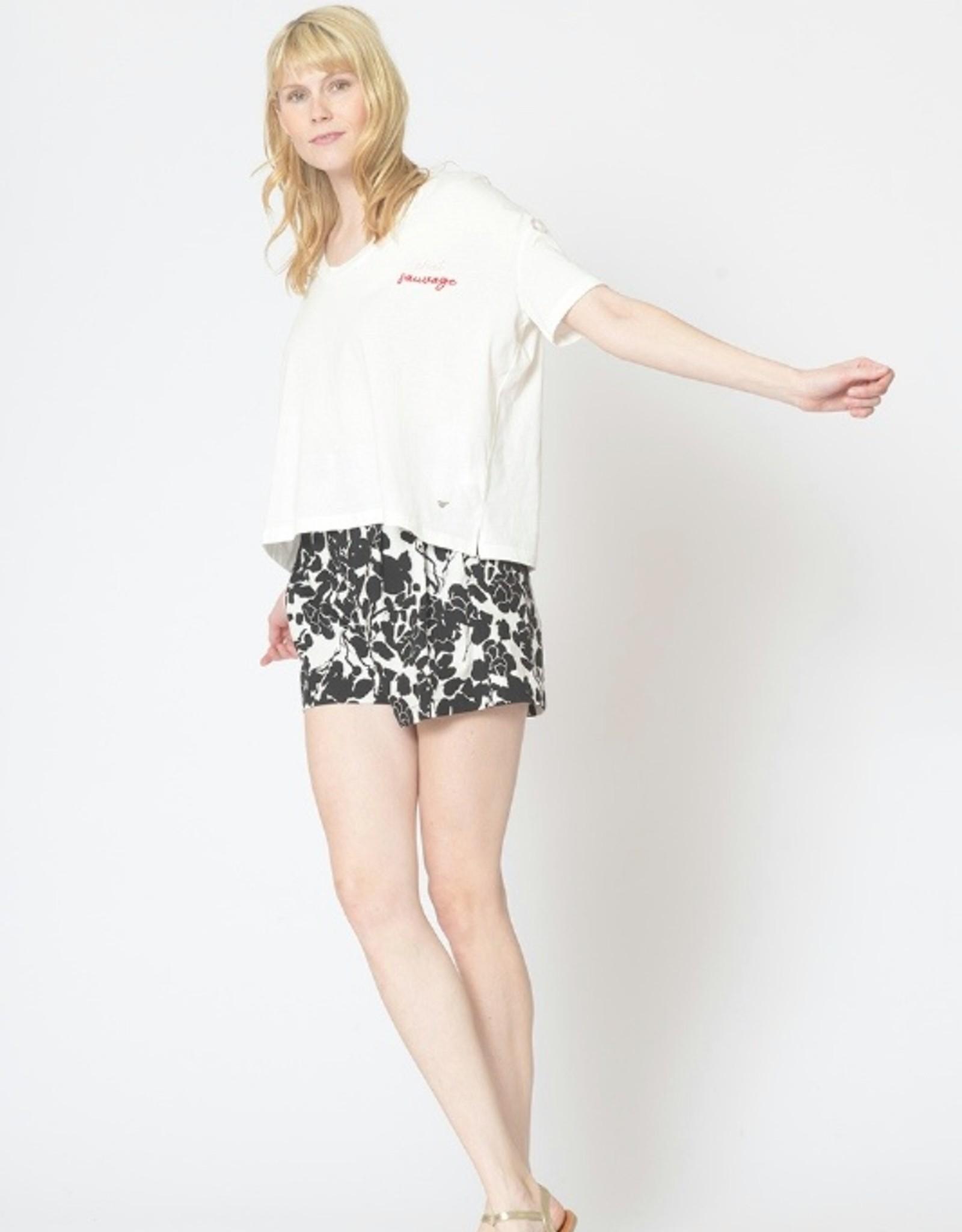 Orfeo - LMK T-shirt 'Dora' - Wit - Orfeo