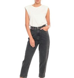 F.A.M. Jeans F.A.M. 'Lily' Balloon Cropped - Black