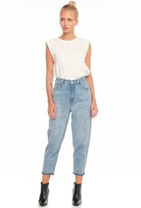 F.A.M. Jeans F.A.M. 'Lily' Balloon Cropped - Blue