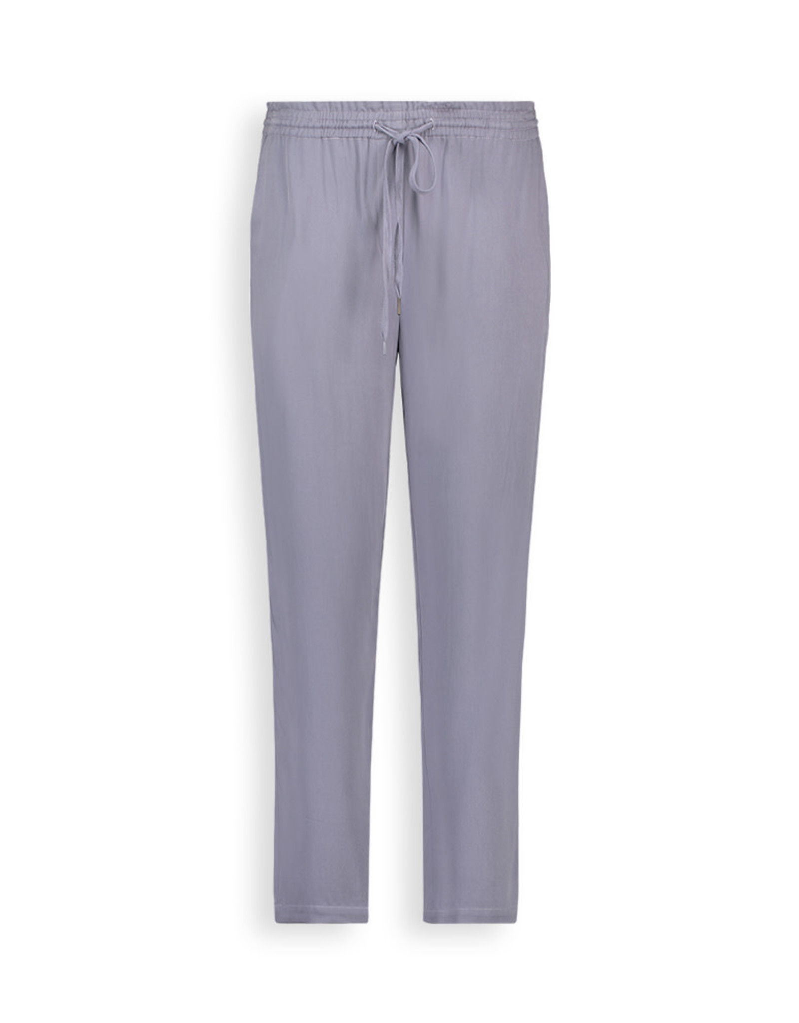 Another Label Broek 'Seisen' - Silver blue - Another Label