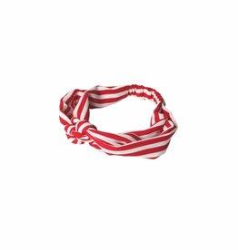 Becksöndergaard Haarband 'Striped' - Fiery Red - Becksöndergaard