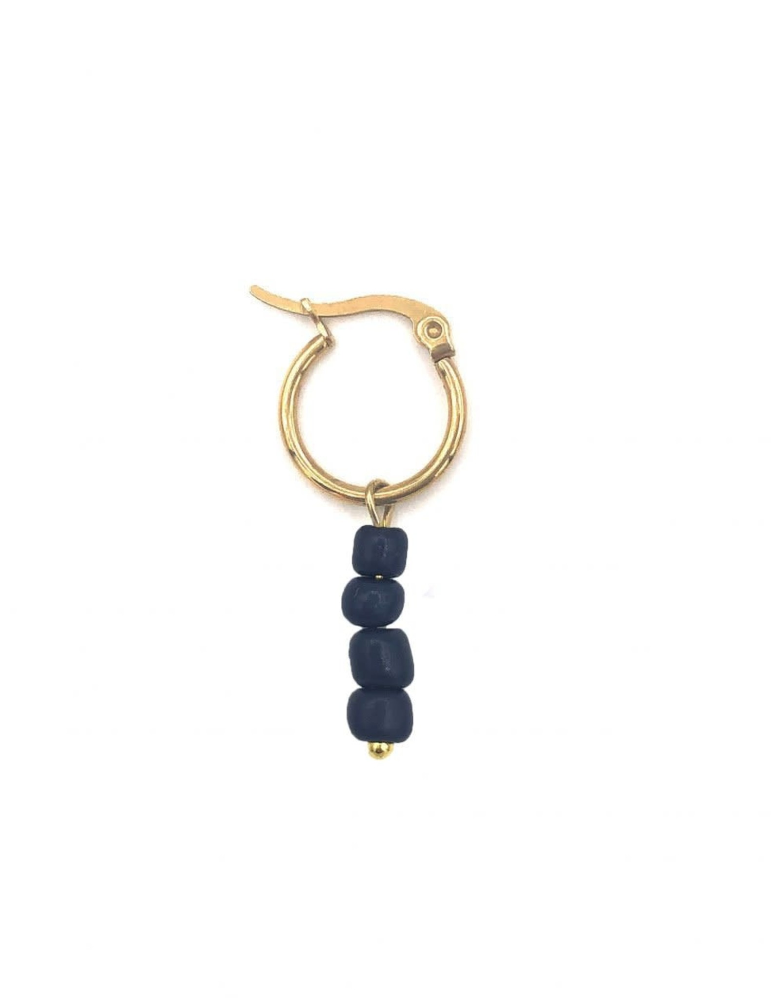 The Golden House Hoop beads gold 7 / stuk