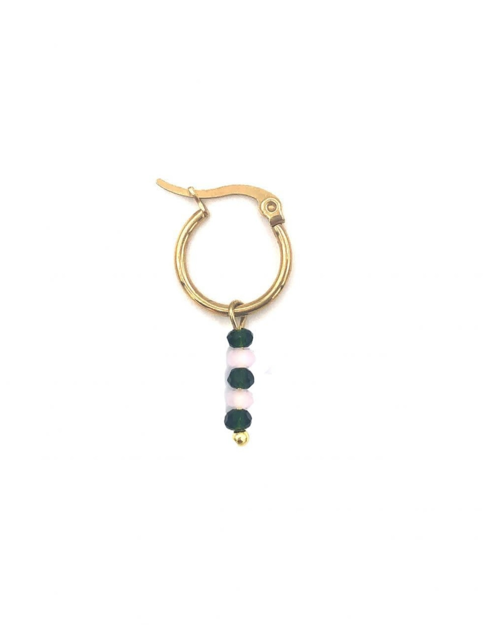 The Golden House Hoop beads gold 6 / stuk