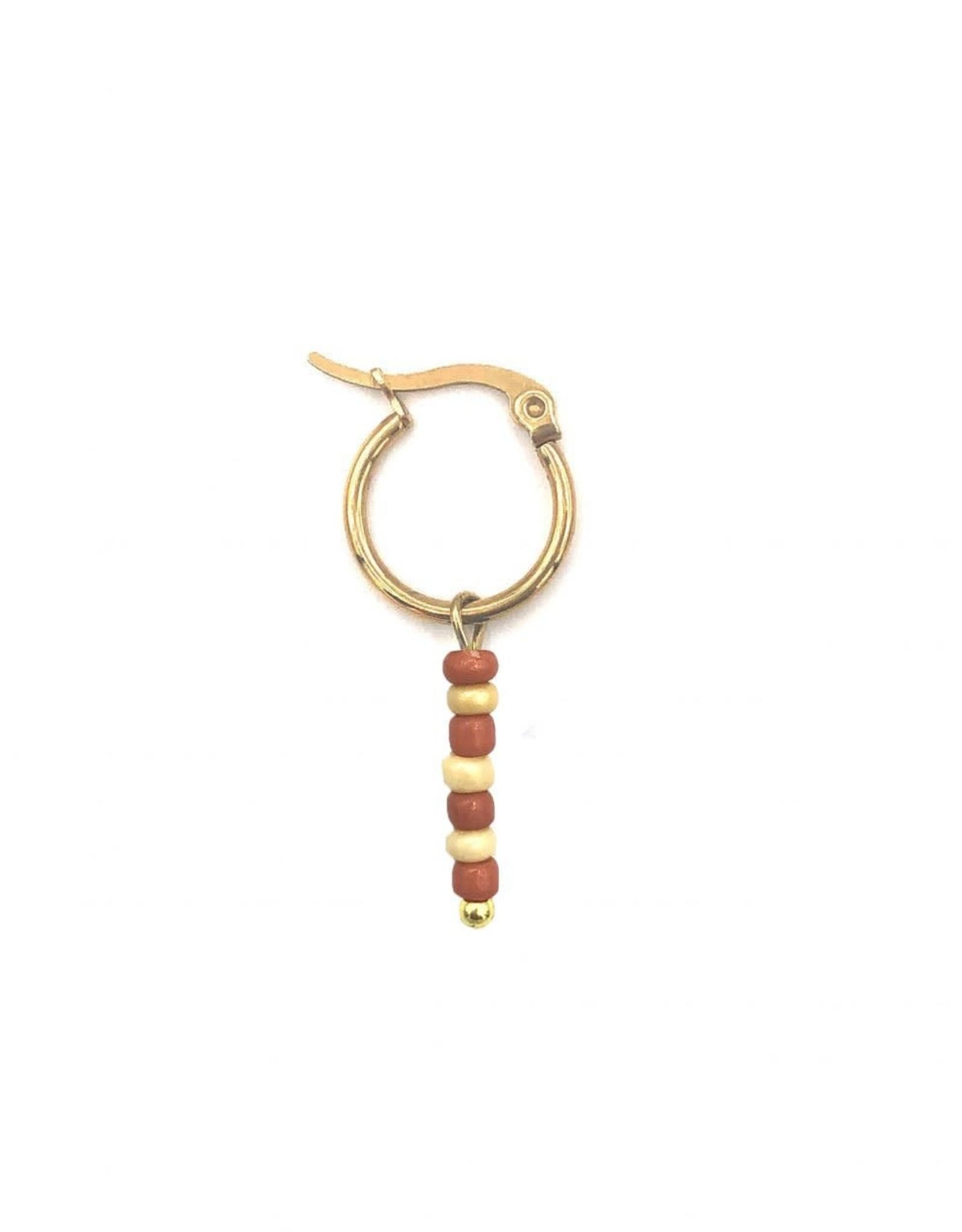 The Golden House Hoop beads gold 1/stuk
