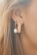 The Golden House Hoop beads gold pearl / stuk