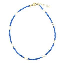 The Golden House Cobalt blue choker