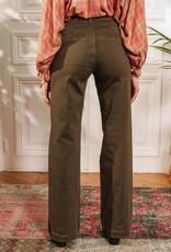 Jeans 'Sonny-Toile' - Khaki