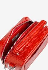 HVISK Handtas 'Blaze Croco' Orange/Red - Hvisk