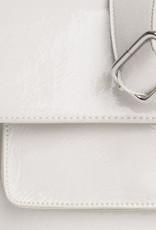 HVISK Handtas 'Cayman Pocket Glossy' - White - Hvisk