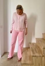 The Golden House Broek fijne ribfluweel 'Celeste' - Pink