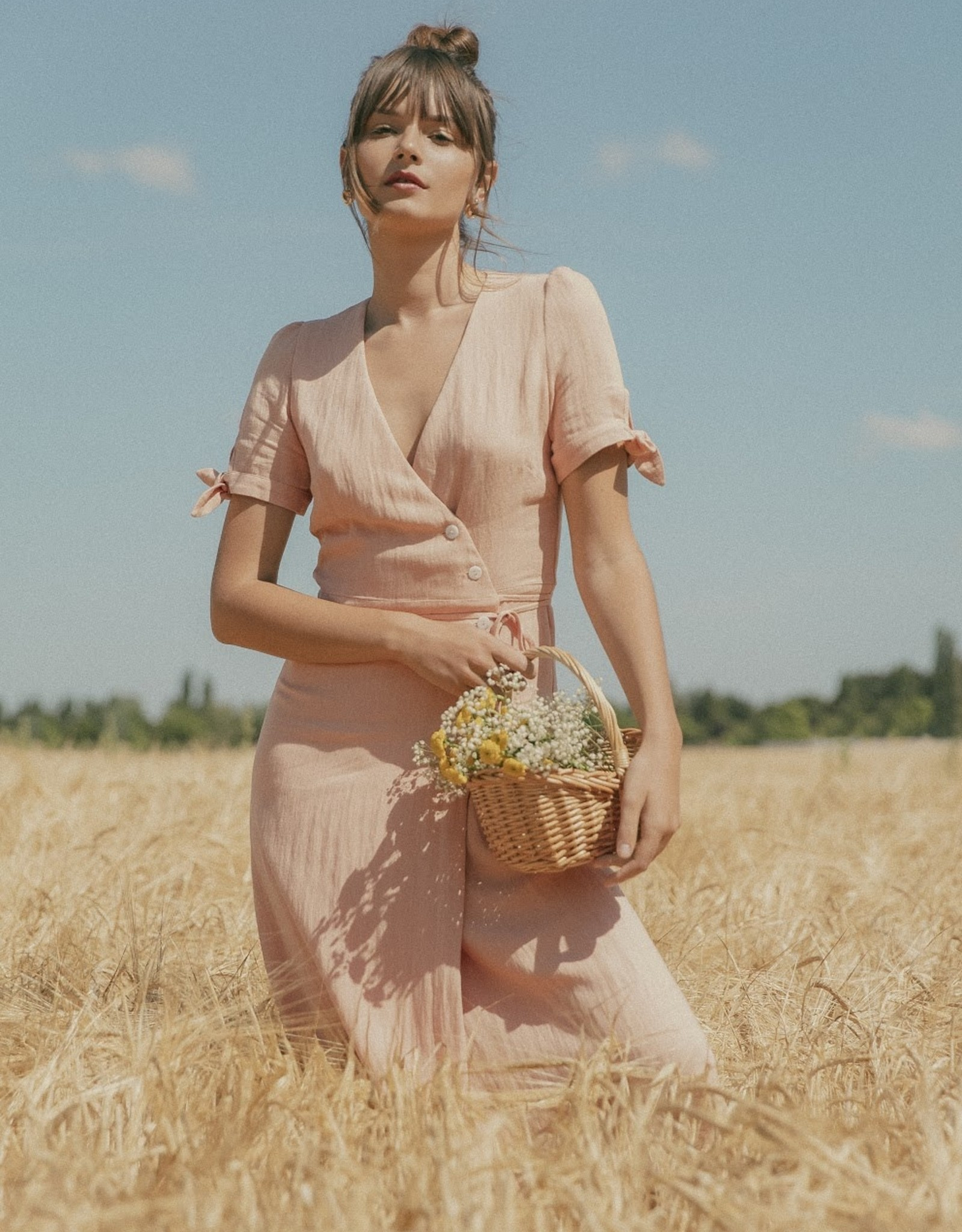 The Golden House Jurk ' Carla' - Peach