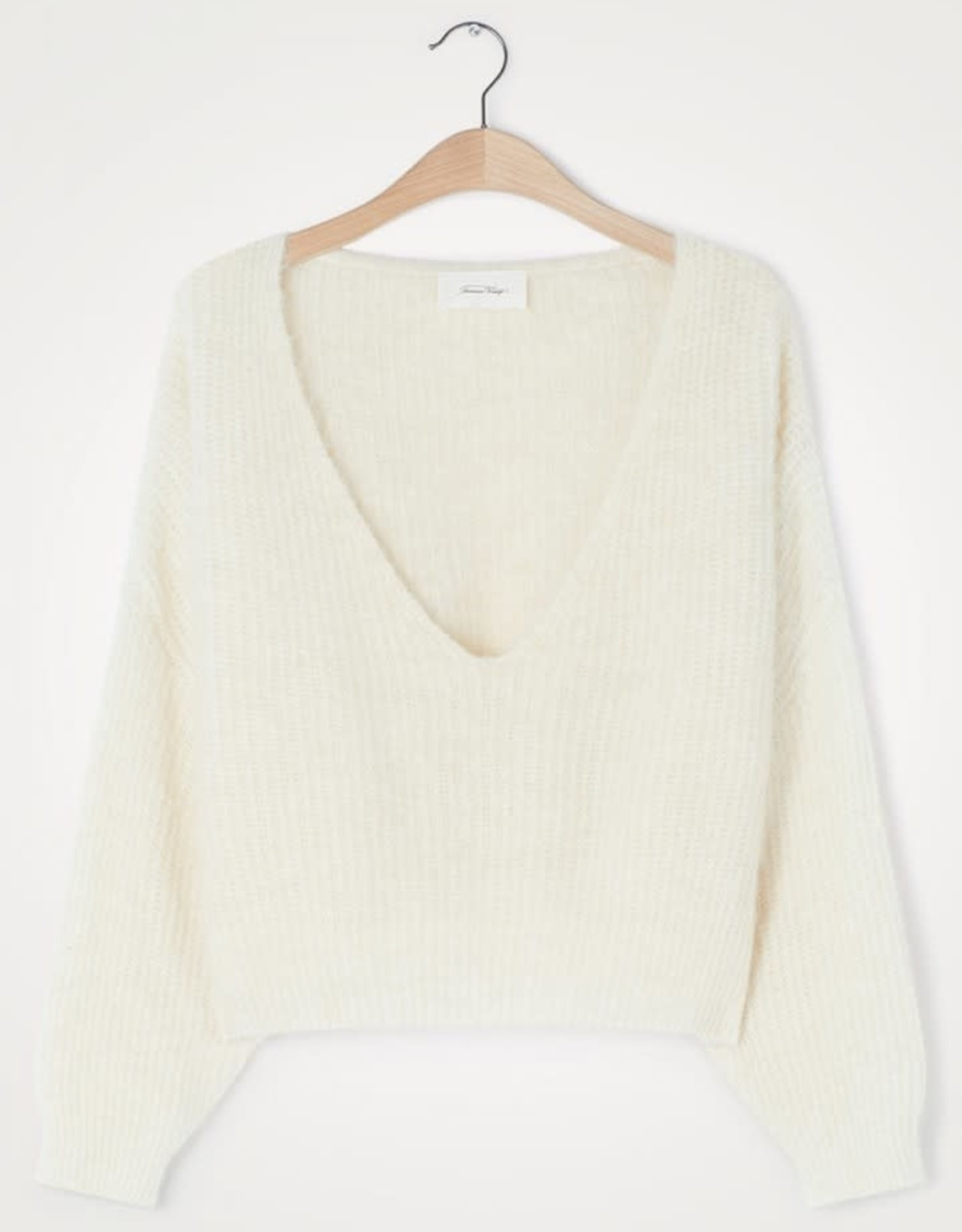 American Vintage Pull 'East' - Coll V - Nacre Chiné - American Vintage