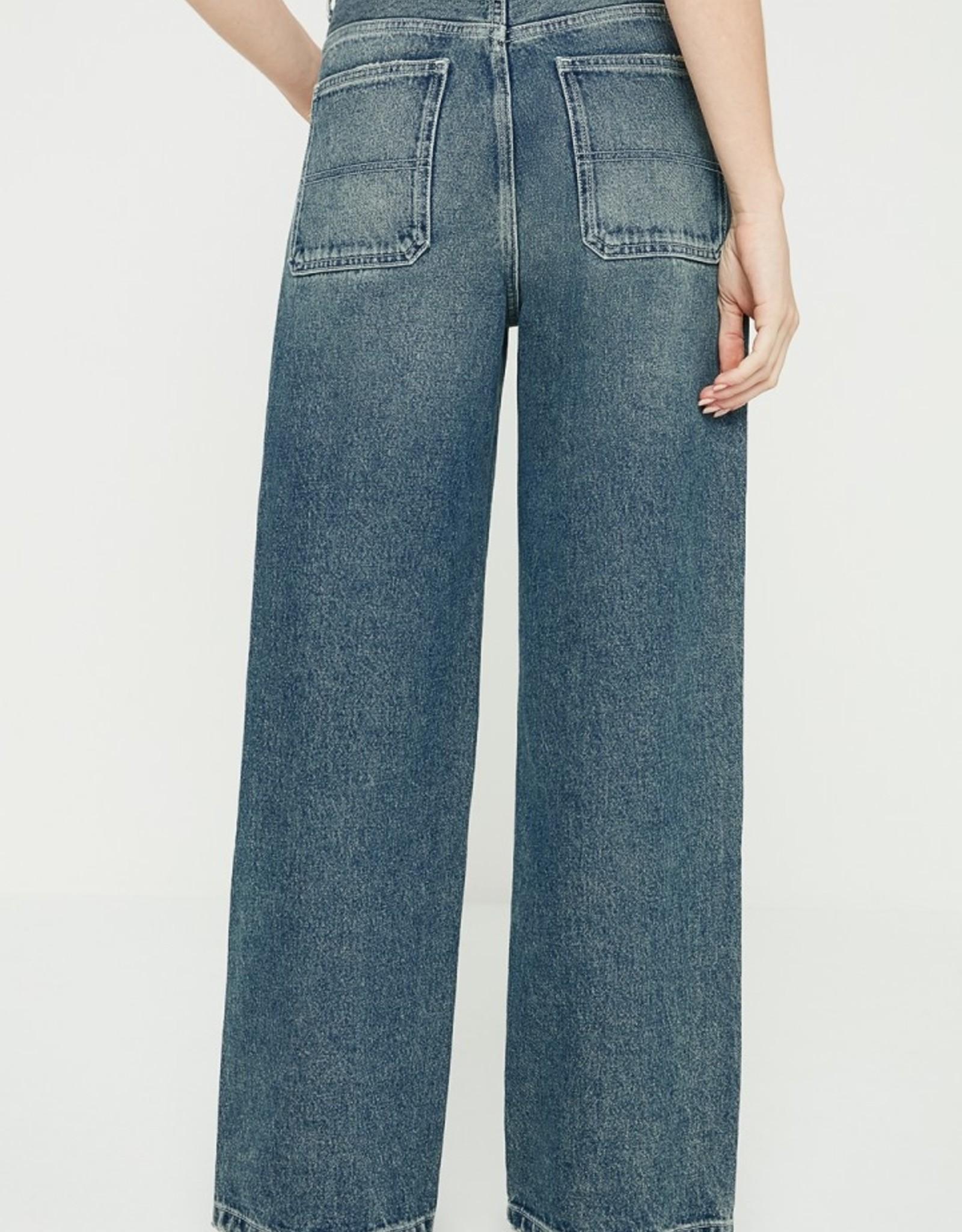 American Vintage Jeans 'Busborow' - Blue Dirty - American Vintage