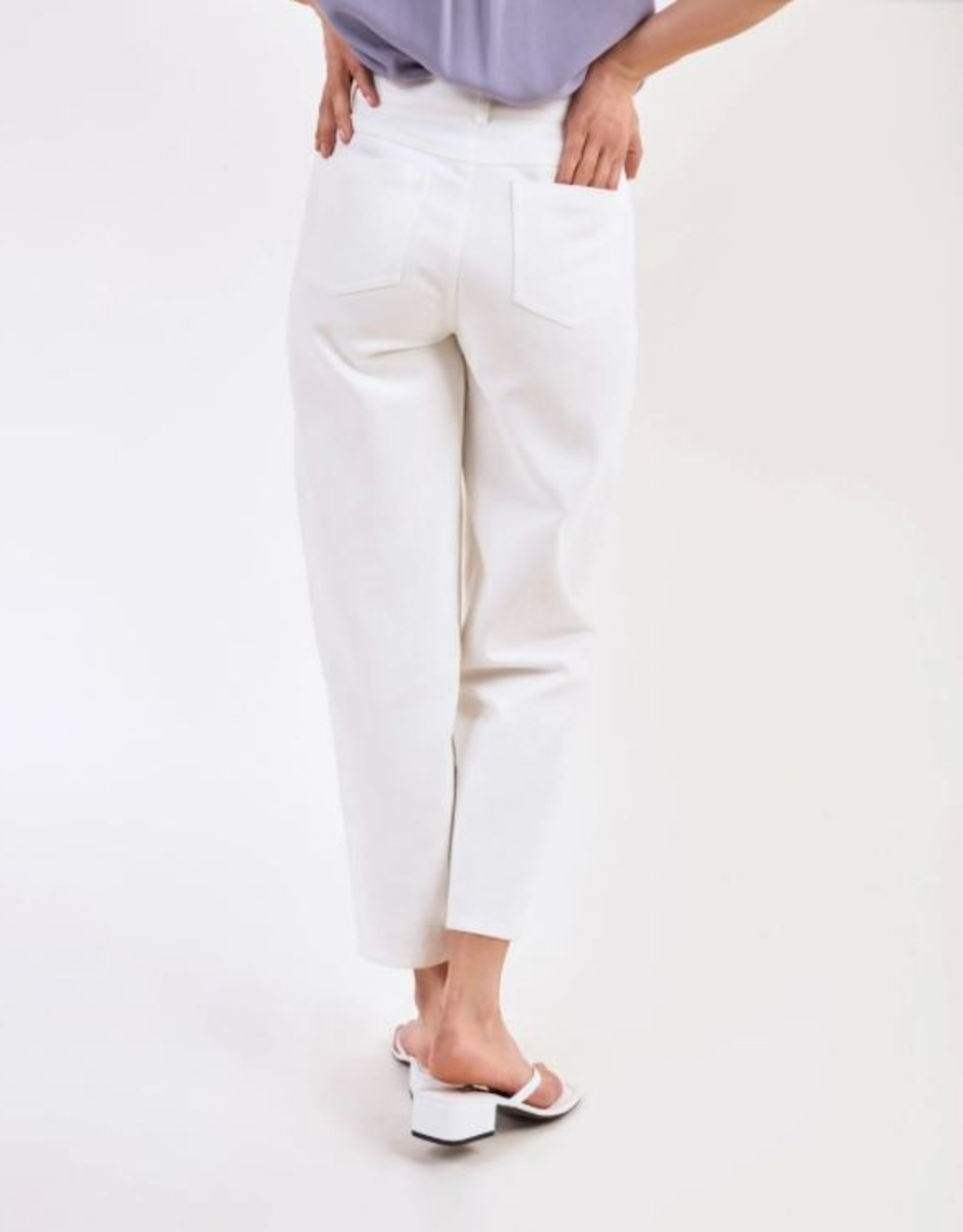 Another Label Broek 'Tsuru' - Off white - Another Label