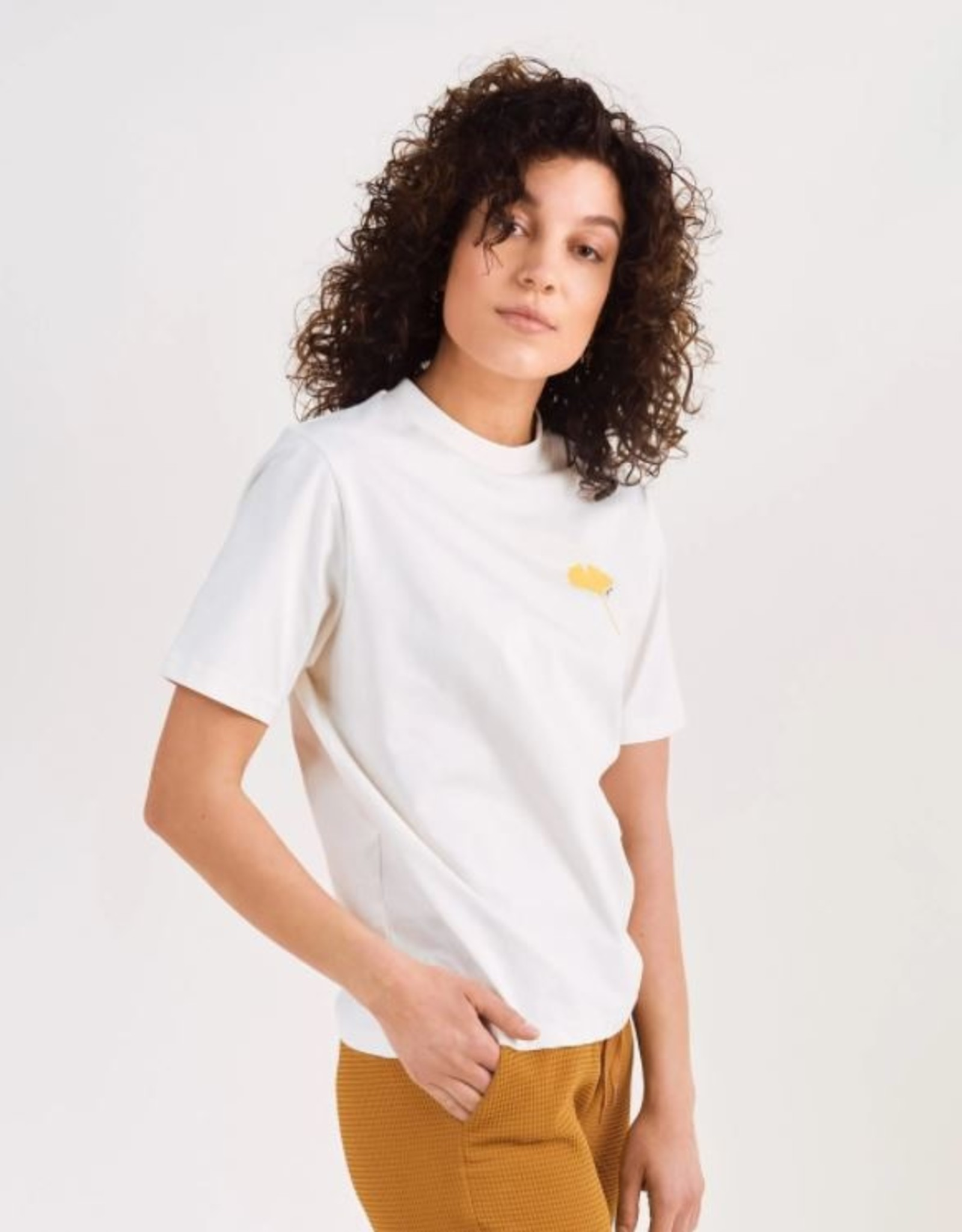 Another Label T-shirt 'Ginkgo' - Off white - Another Label