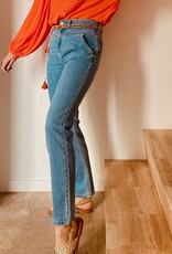 Orfeo - LMK Broek 'Alicia' - Denim Blue - Orfeo