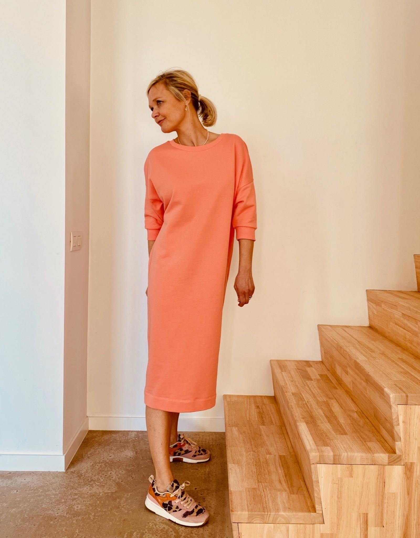 Happy 13 Sweaterdress 'Elisa' - Burnt Coral