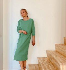 Happy 13 Sweaterdress 'Elisa' - Groen
