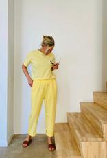 The Golden House T-Shirt 'Livia' - Geel - Taille Unique