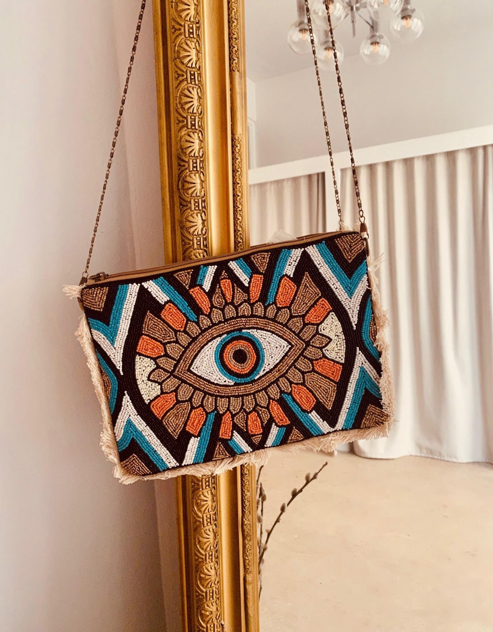 The Golden House Handtas 'Eye' - Oranje