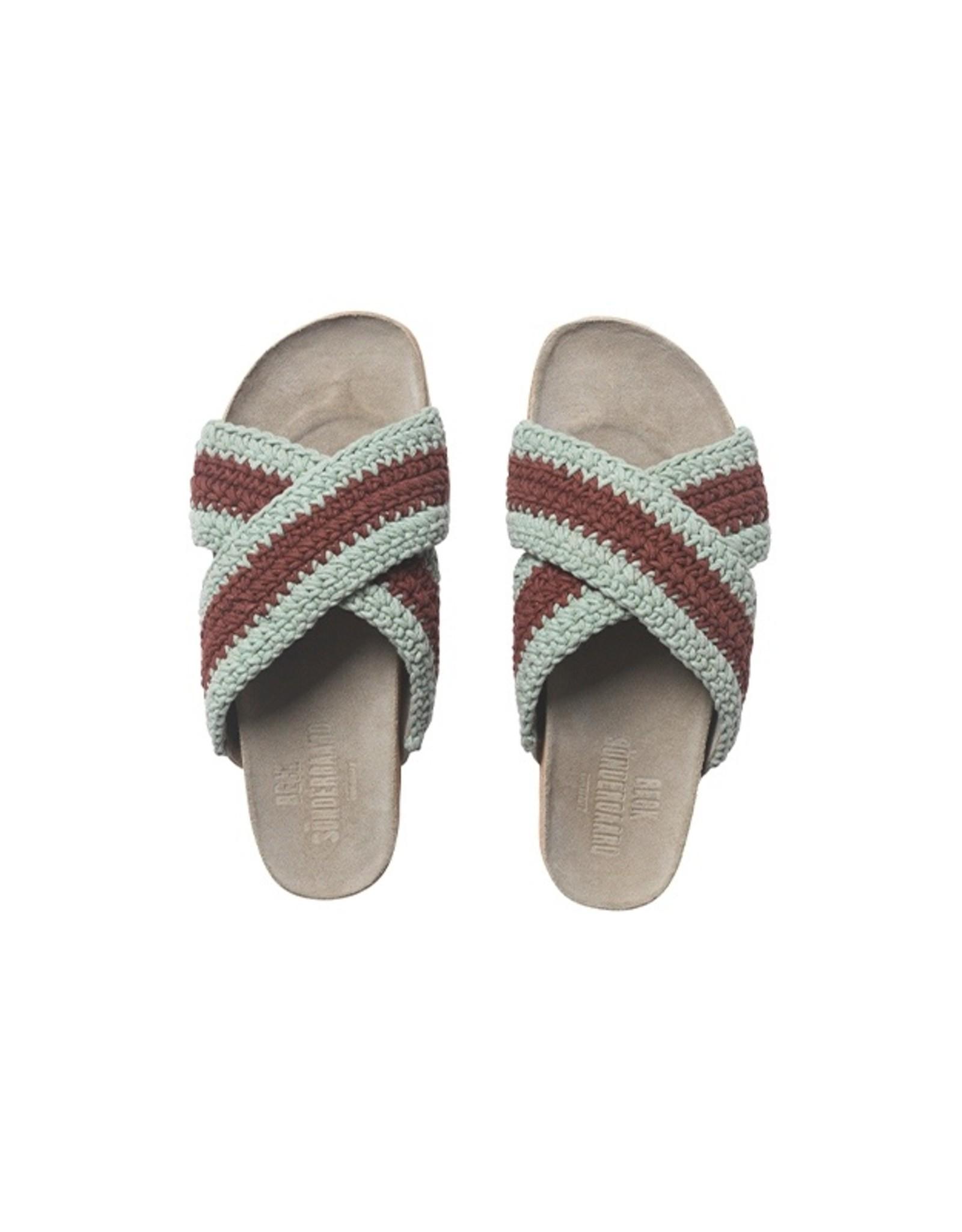 Becksöndergaard Slippers 'Yvonne Crochet' - Sand - Becksöndergaard
