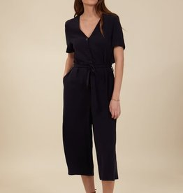 Orfeo - LMK Jumpsuit 'Marguerite' - Navy - Orfeo