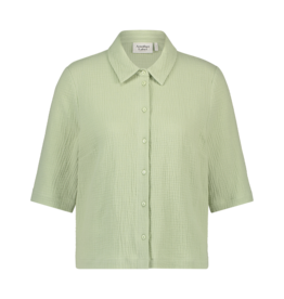 Another Label Blouse 'Biset' - Reseda green - Another Label