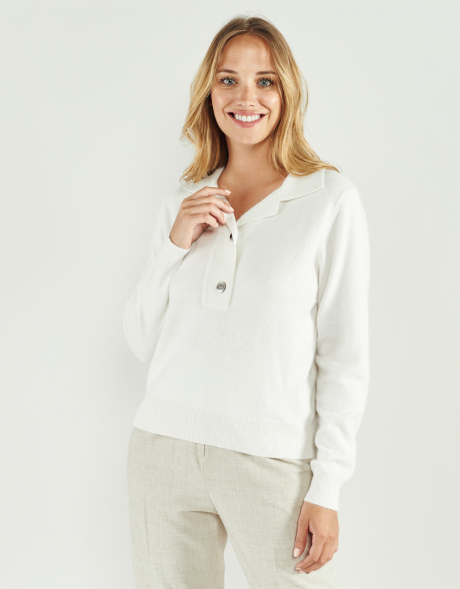 The Golden House Pull 'Honore' - Cream