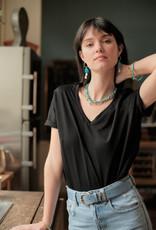Almae T-shirt 'Teva' Zwart - almae
