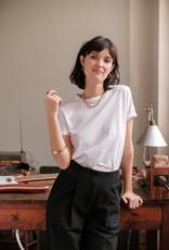 Almae T-shirt 'Teodora' Wit - almae