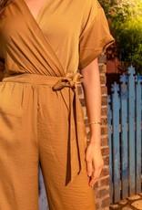 La Petite Etoile Jumpsuit 'Aster' - Jaune