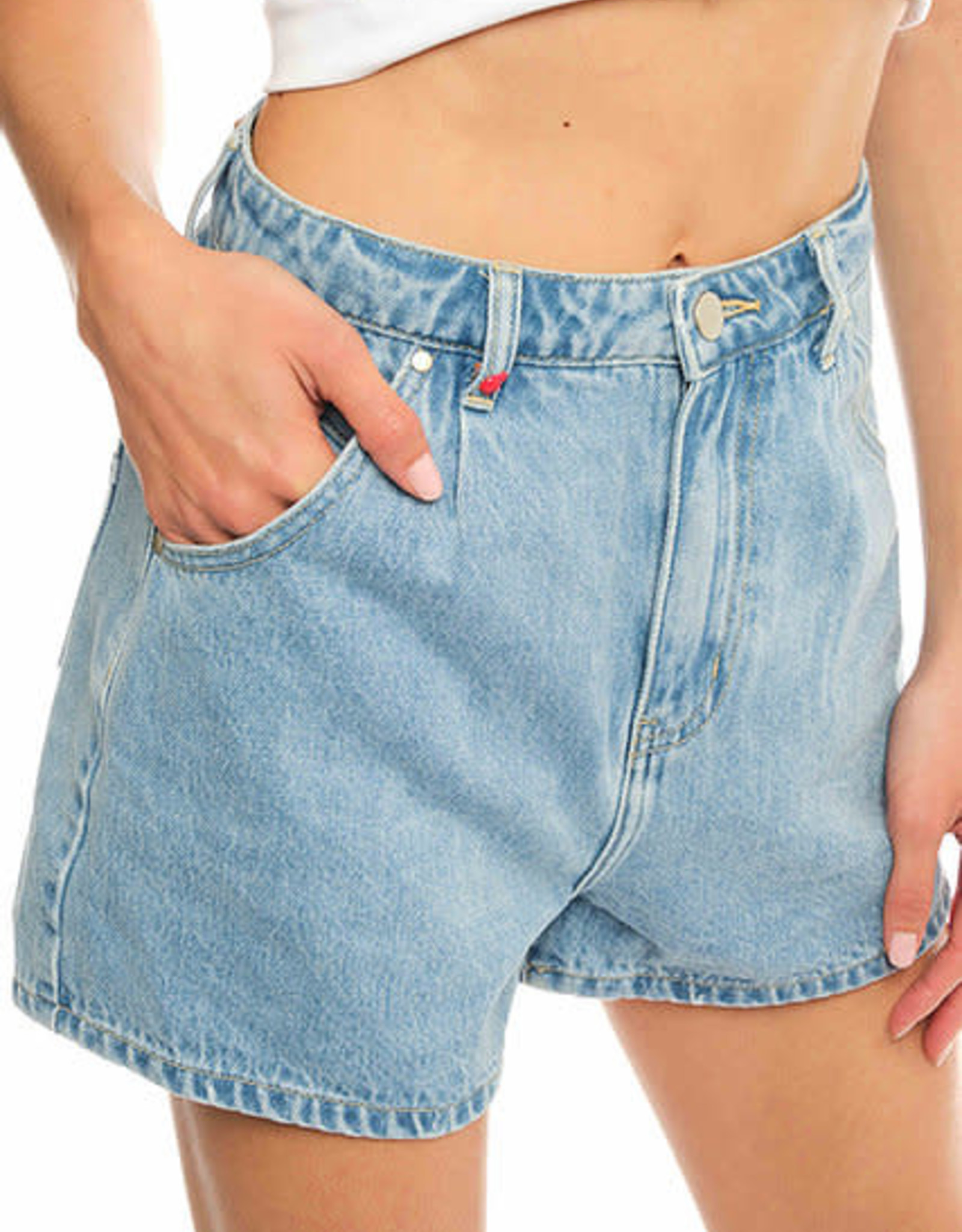 F.A.M. Jeans short Amely - Blue - F.A.M.