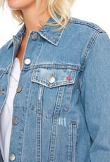 F.A.M. Denim Jacket 'Vivi' - Blue - F.A.M.