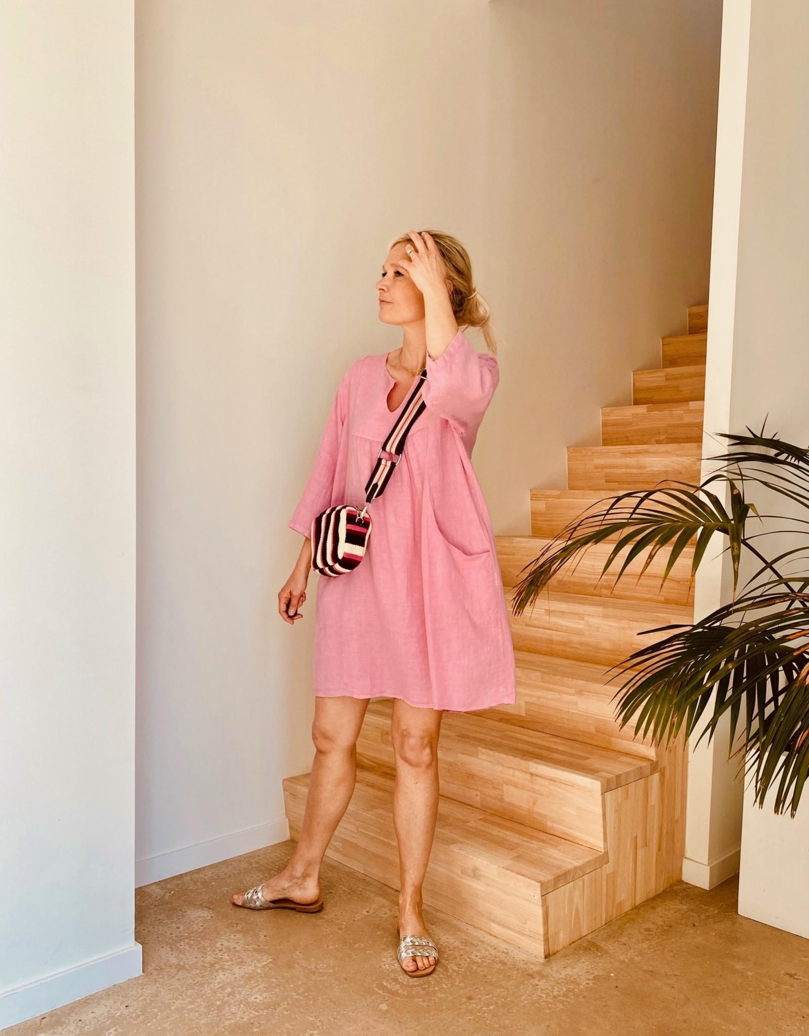 The Golden House Jurk 'Jane' - V198 - Taille Unique - Roze