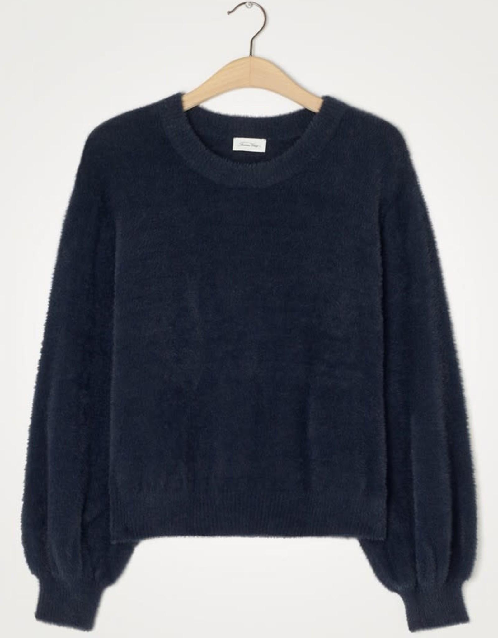 American Vintage Pull/Sweater 'Egpik' - Navy - American Vintage