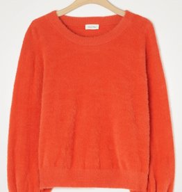 American Vintage Pull/Sweater 'Egpik' - Brique - American Vintage