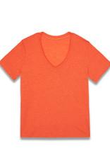 Almae T-shirt 'Tiago' Orange - almae