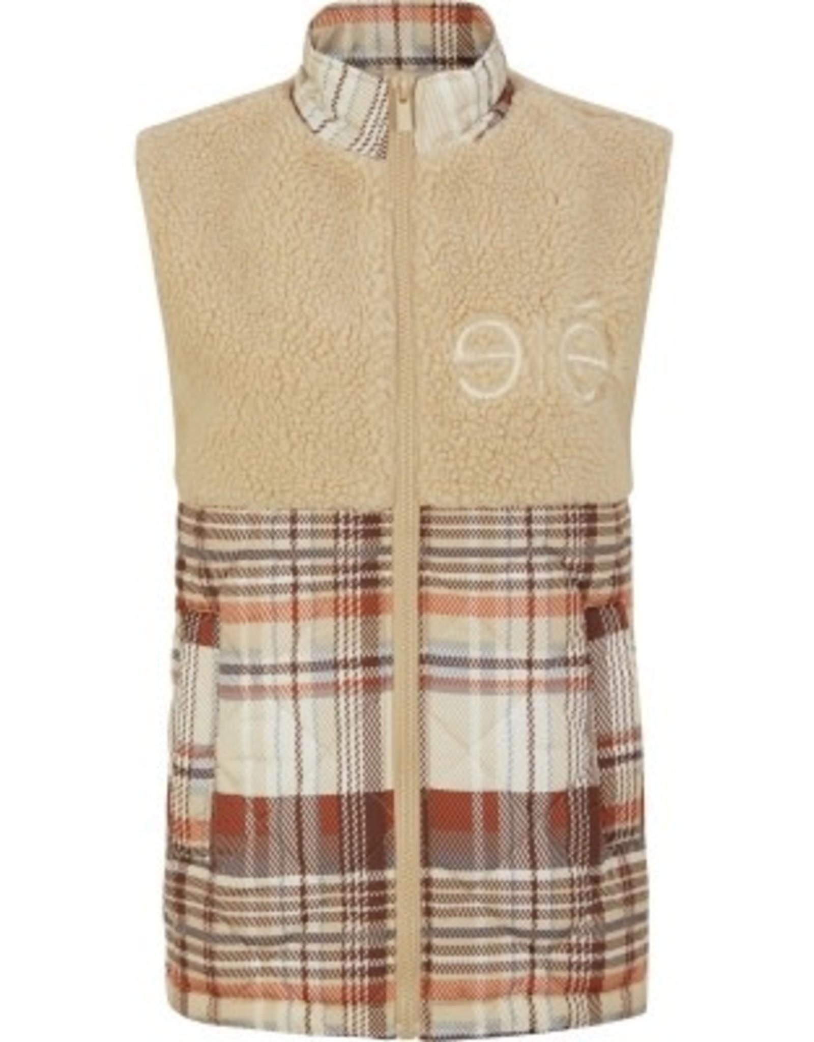 Esmé Studios Vest ESShirl Quilt zonder mouwen - Multi colour check