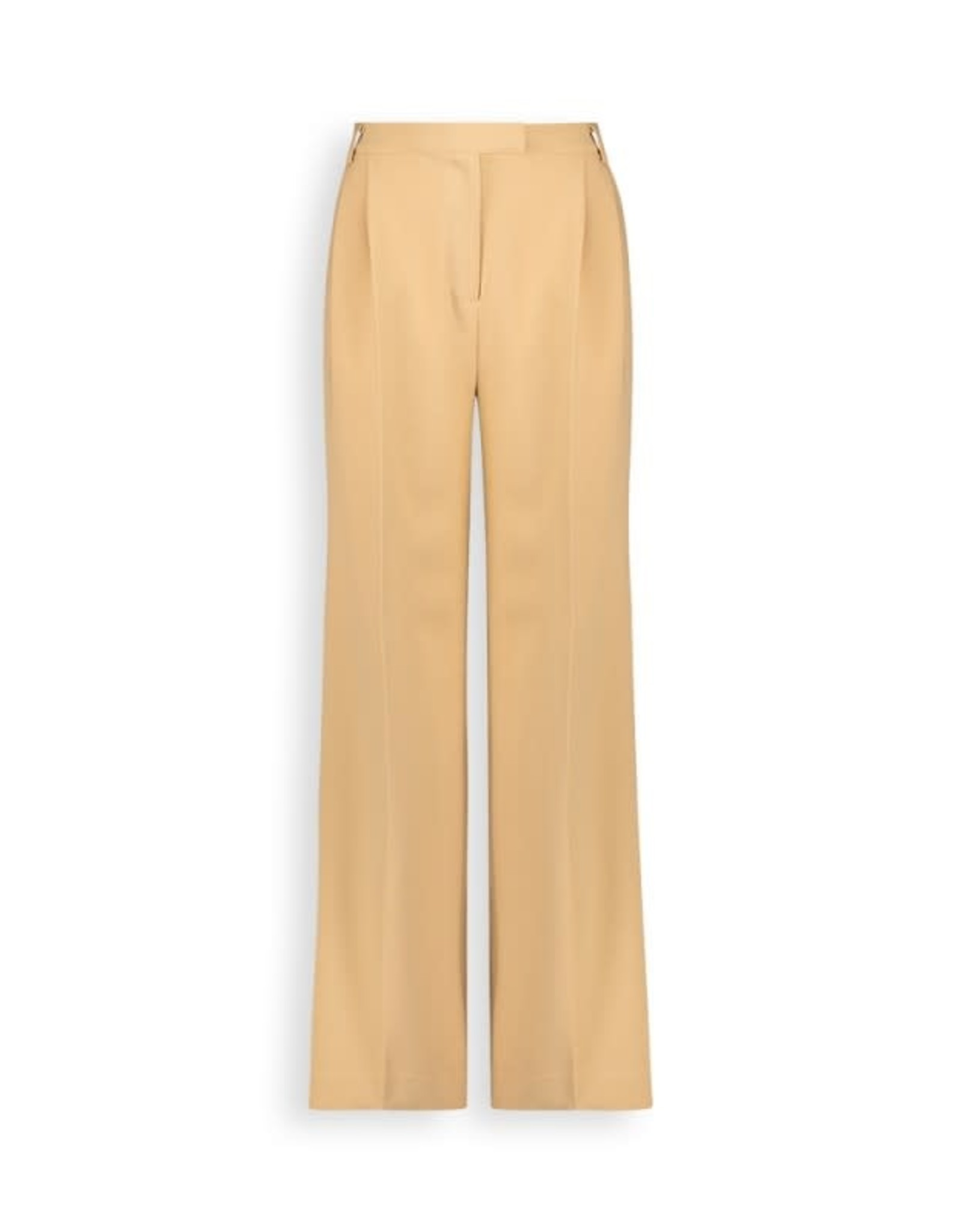 Another Label Broek 'Moore'  Pleated Cream - Another-Label