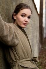 Noella Jas 'Esme Pile' Solid - Light Army - Noella
